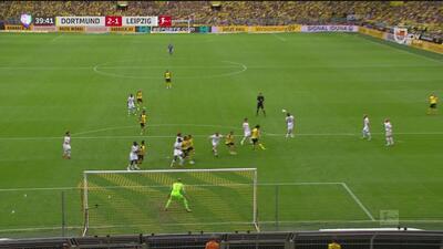 ¡Se cae el Leipzig! Reus y un desvío de Sabitzer en propia puerta la dan la ventaja al Dortmund
