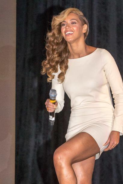 Pero Beyoncé no se queda atrás, ella también ha demostrado que está loca...