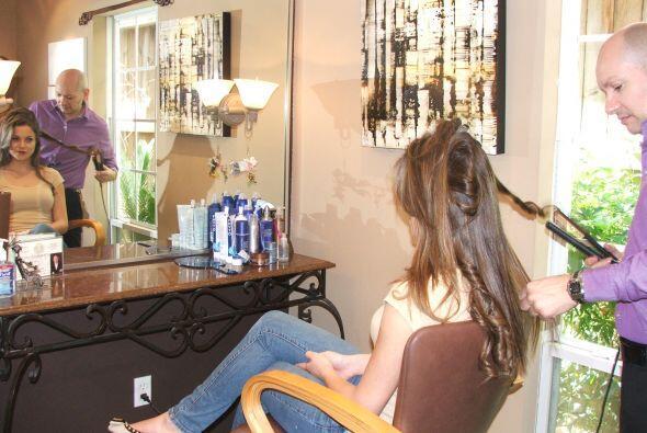 En esta época se llevará mucho el cabello suelto con cepillado normal.