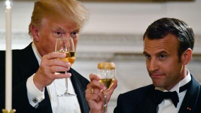 """El gobierno de Francia arremete con fuerza contra Trump: """"Déjenos vivir nuestra vida como nación"""""""