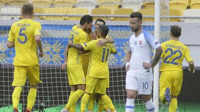 En fotos: Ucrania, primer equipo con dos victorias en la UEFA Nations League