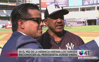 Los Yankees comienzan las celebraciones por el Mes de la Herencia Hispana