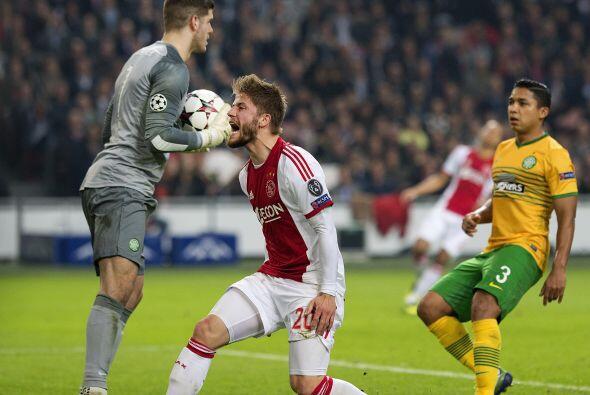 El Ajax necesitaba ganar en su estadio al Celtic para no ver desaparecer...