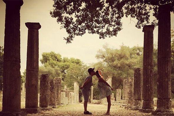 Y de tanto besito aquí y besito allá, contagian tanto amor.