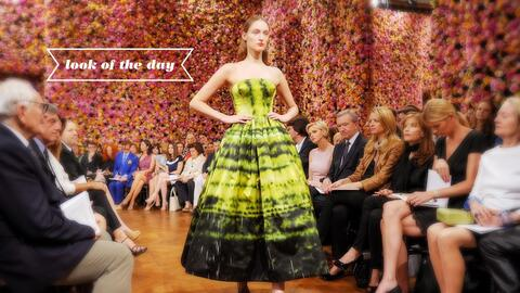 Christian Dior: Front Row - Paris Fashion Week