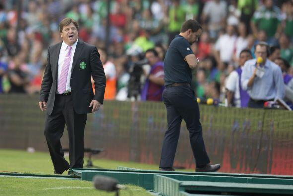 5.- Cabeza fría vs. CONCACAF.- El 'Piojo' estuvo enojado todo el...