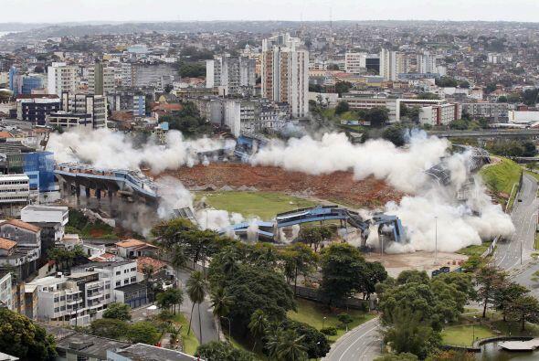 El club inicio las obras de un nuevo estadio para el Mundial 2014 que co...