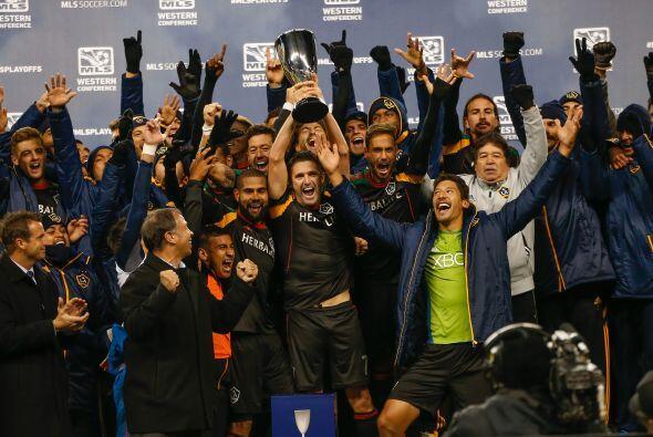 Los Angeles Galaxy, equipo que actualmente pelea el título de la MLS, se...