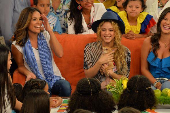 Como siempre nuestra Honey fue la más afortunada y apapachada. ¡Shakira...