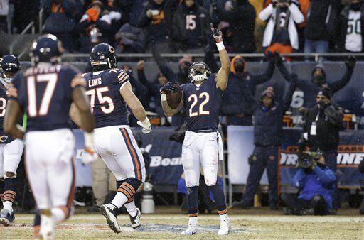Matt Forte, corredor de los Chicago Bears (AP-NFL)