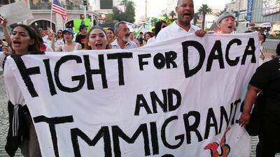 Dreamers luchan por la continuidad de DACA y el bienestar de las familias separadas en la frontera