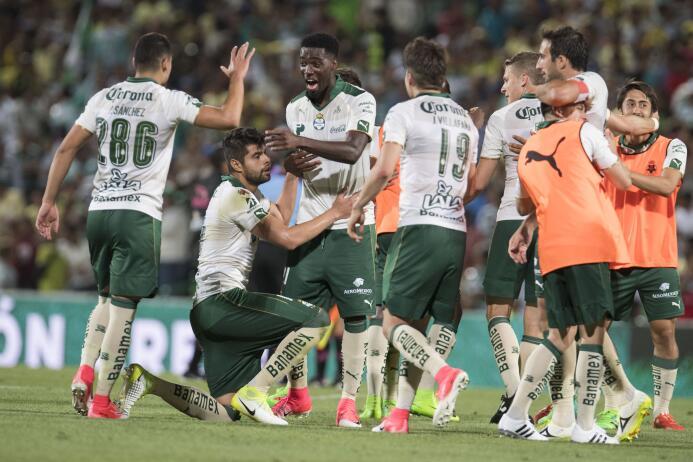 Santos se lleva un partido lleno de emociones, sobre todo en los últimos...