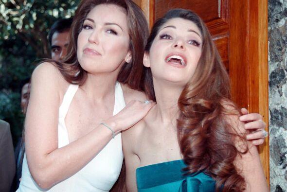 Desde ese momento se hizo gran amiga de Thalía.