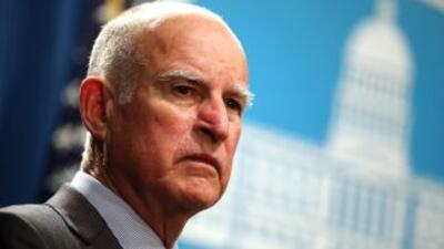 Jerry Brown, gobernador de California.