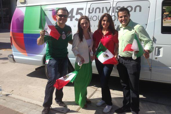 Por supuesto que Univision 45 estuvo ahí para traerte los mejores momentos.
