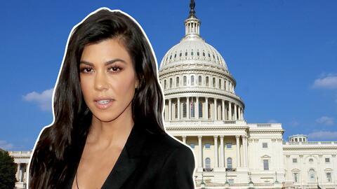 Kourtney Kardashian al Congreso
