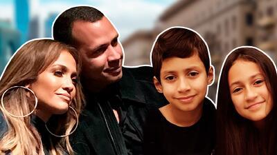 Con un video JLo felicita a ARod por el Día del Padre y él se conmueve con este gesto de sus hijas (y los de Marc)