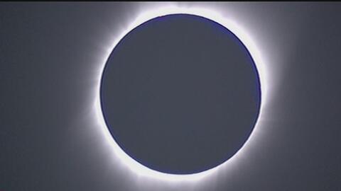 Así transcurrieron los momentos en los que se pudo observar el eclipse t...