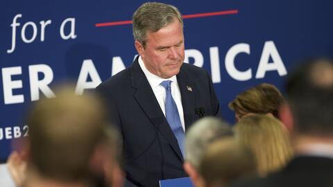 Jeb Bush partió como el favorito para ganar la nominación...