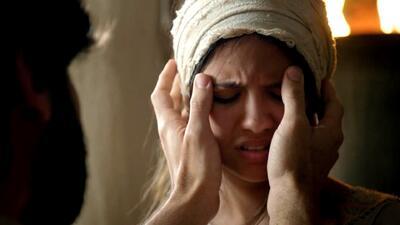 Jesús curó a una joven de su ceguera