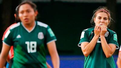 Tri femenil Sub-20 regresó a México luego de la eliminación del Mundial de Francia