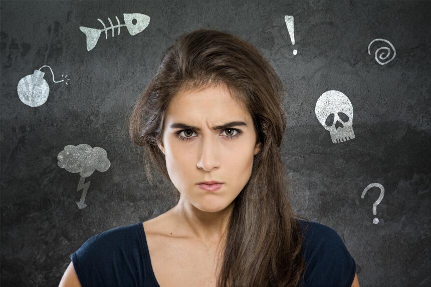 La batalla entre los sentimientos opuestos de los signos