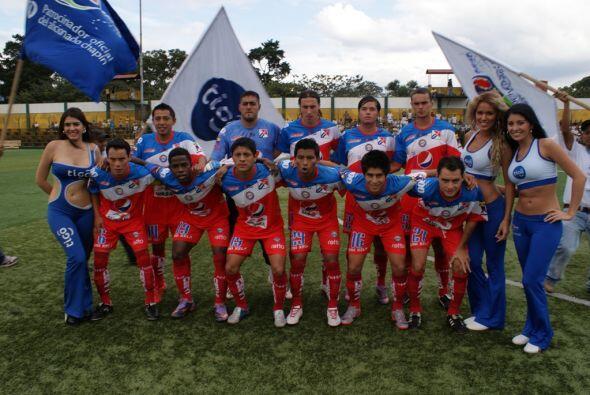 Los 'Chivos' del Xelajú se presentaron ante Comunicaciones en la fecha o...