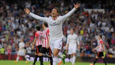 El portugués sigue luciendo como una máquina de hacer goles y esta noche...