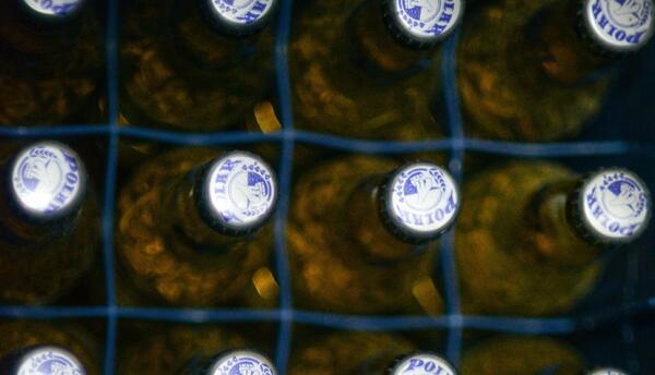 Botellas de Polar esta semana en Caracas