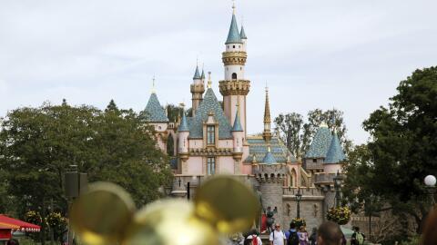 Parque Disneyland en Anaheim, California.