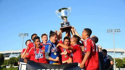 Los 'Hoops', líderes de la MLS y campeones a nivel juvenil.