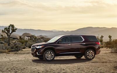 Chevrolet muestra la nueva Traverse 2018