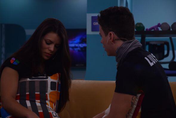 """A Marlin las palabras de Luis la dejaron sin palabras. """"Estoy sorpr..."""