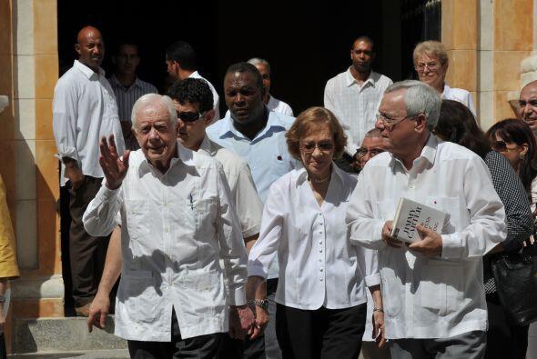 El ex presidente estadounidense, de 86 años, se reunirá el miércoles con...