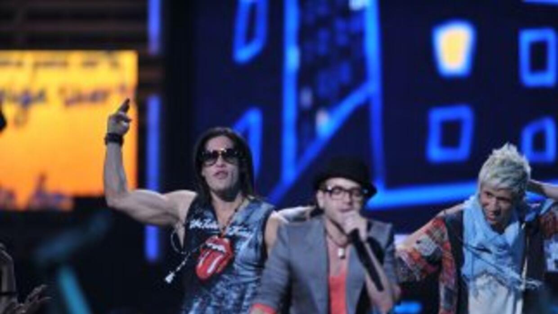Chino y Nacho en Premios Juventud