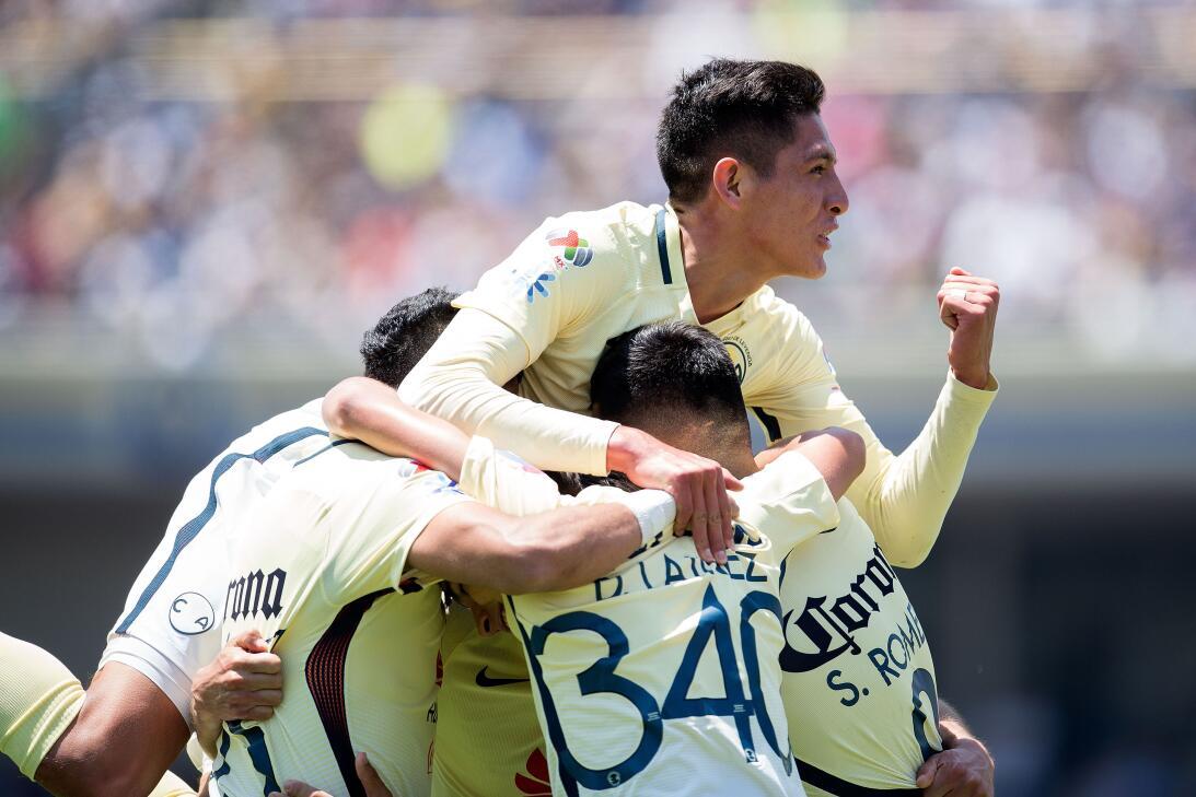 América sufrió, pero al final derrotó 3-2 a los Pumas en CU 015 Festejo...