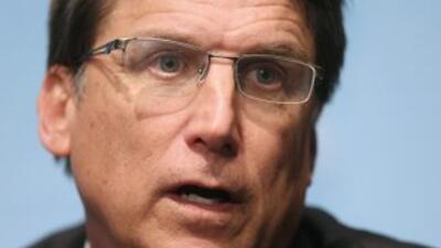 El gobernador del estado, Pat McCrory.
