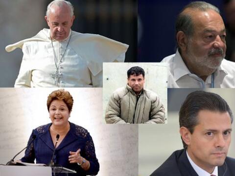 En la lista de las 72 personas más poderosas del mundo hay cinco...