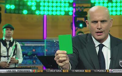 Las tarjetas del Conde: tarjeta verde para La Volpe por su gestión en el...