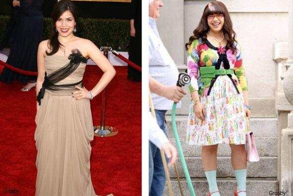 America Ferrera es una hermosa actriz que lleva sangre hondureña y ha da...