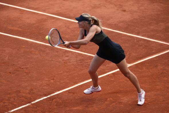 La rusa nacida en Siberia, también semifinalista en París en 2007 y 2011...
