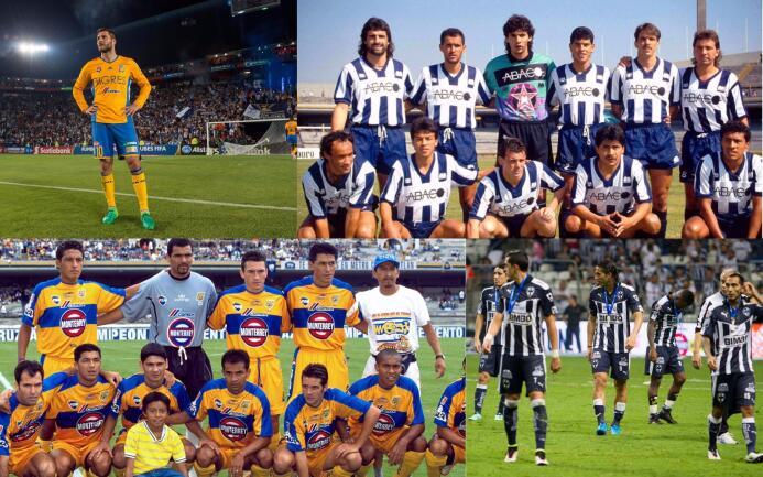 La final regia: más subcampeonatos que títulos entre Monterrey y Tigres...