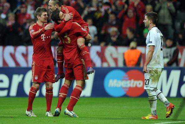 El Bayern Munich demolió al Balisea. El conjunto alemán le propinó una h...