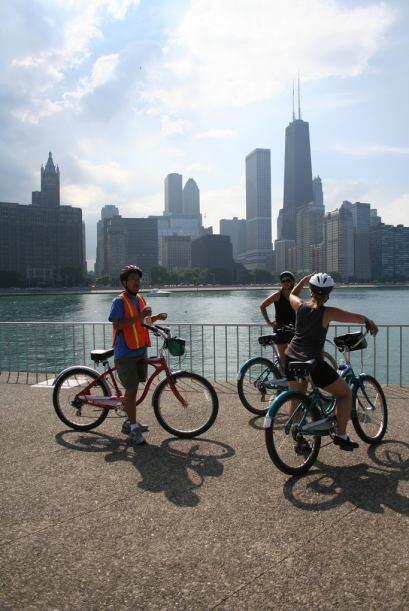 Gira de Chicago en Bicicleta : Disfruta Chicago en bicicleta junto con t...