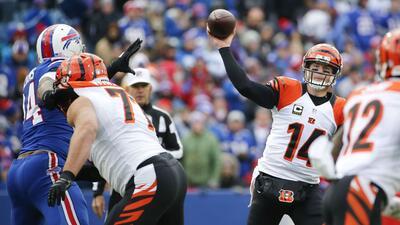 Bengals 34-21 Bills: Andy Dalton consiguió sexto triunfo para Cincinnati...