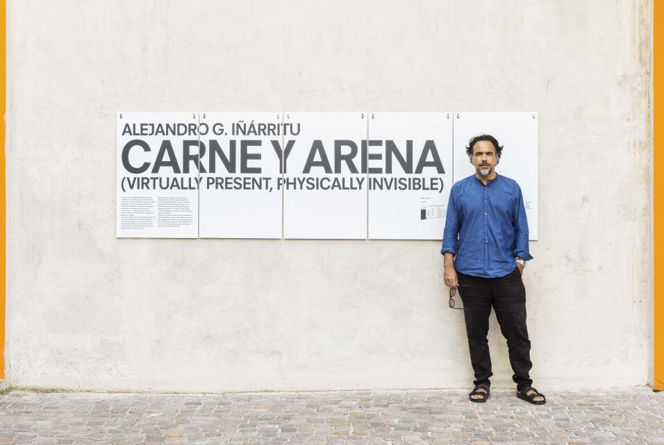 """En la realidad virtual, dice Alejandro González Iñárritu, """"el marco..."""