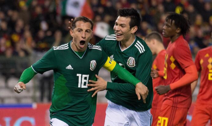 Calficamos México vs. Bélgica