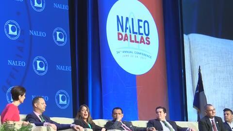 El último día de la conferencia NALEO en Dallas fue dedicado a la Ley SB4