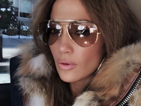 Las selfies de Jennifer Lopez