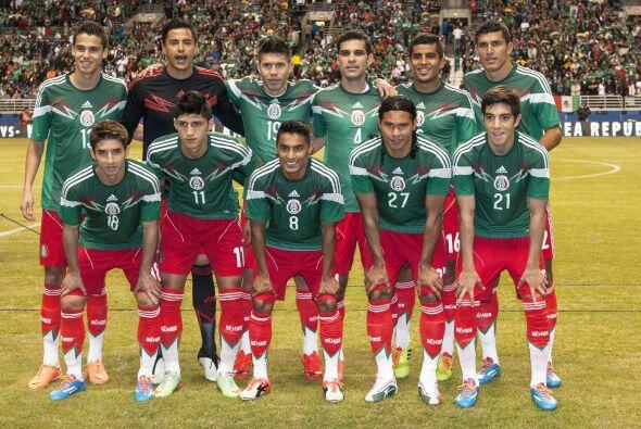 La Selección Mexicana disputó su primer partido de prepara...